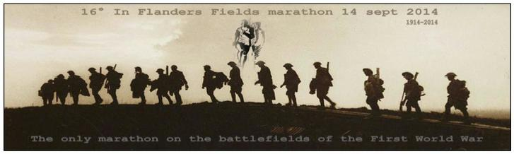 In Flanders Fields Marathon - Katrien