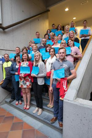 Start-to-run voorjaar - Diploma-uitreiking
