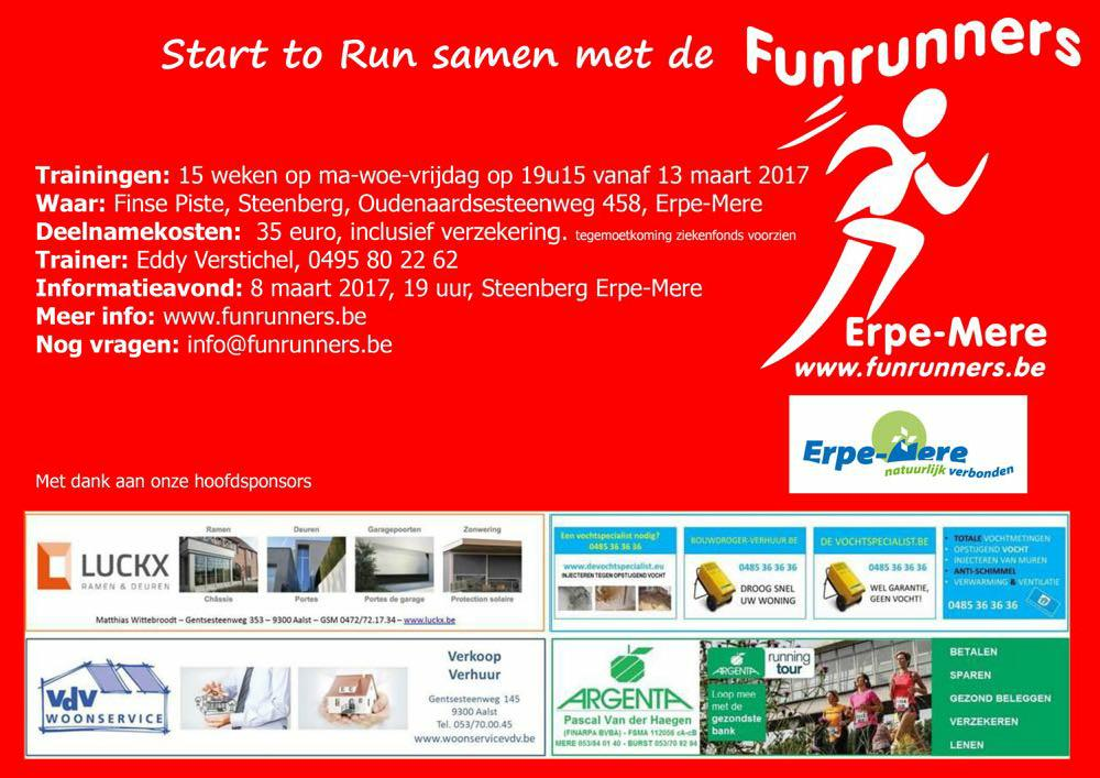 2017 Start to run flyer