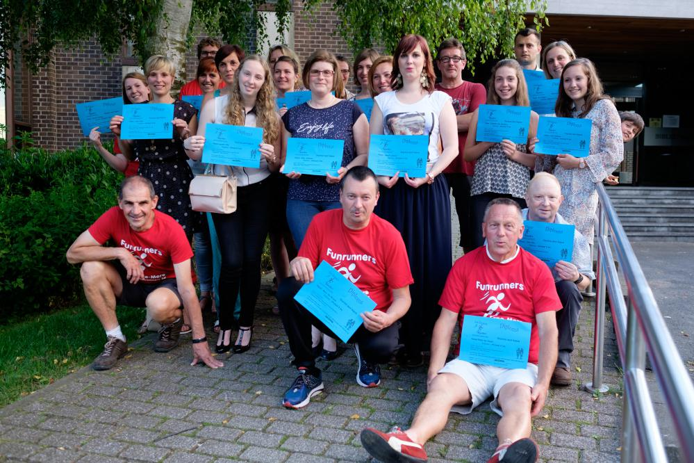 Start-to-run diploma-uitreiking - voorjaar