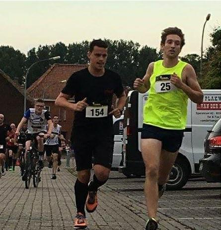 jens en tom in actie op de run en bike