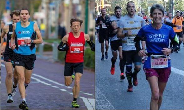 katrien en wim in marathon 2017 2